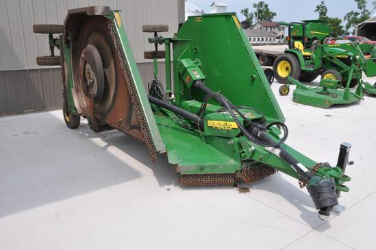 2012 John Deere HX15 15' batwing mower