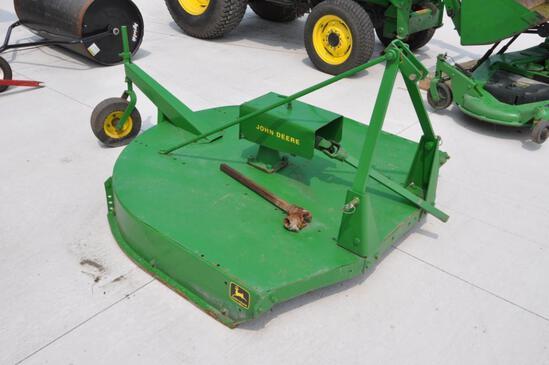 John Deere 5' 3-pt. rotary mower