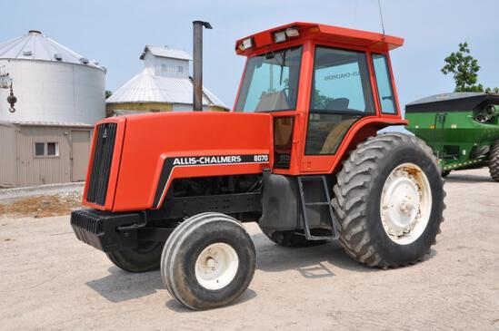1983 Allis Chalmers 8070 2wd tractor