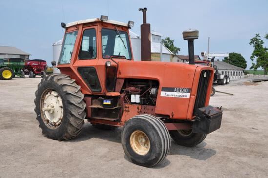 1976 Allis Chalmers 7060 2wd tractor