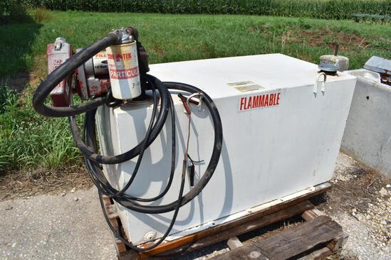 100 gal. fuel transfer tank w/ pump