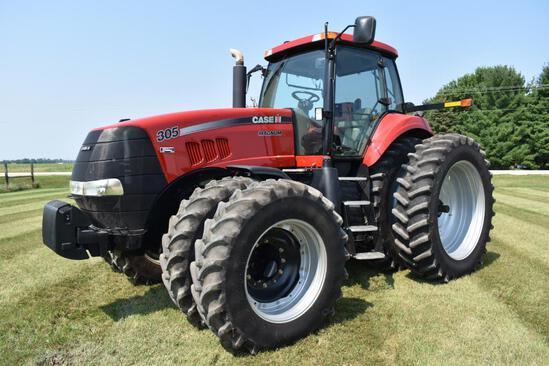 2009 Case-IH Magnum 305 MFWD tractor