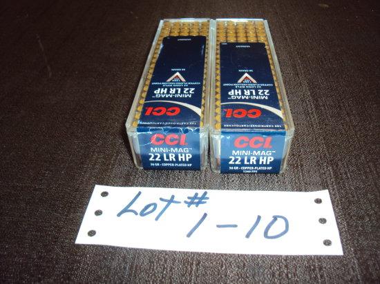 2 BX CCI LRHP MINI MAG #0031 (200 RDS)