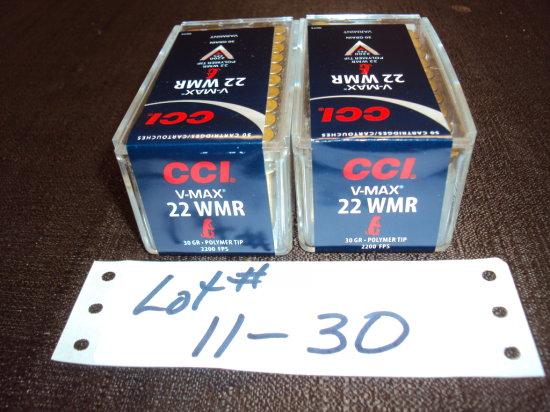 2 BX CCI V-MAX 2200 FBS 22 MAG #0073