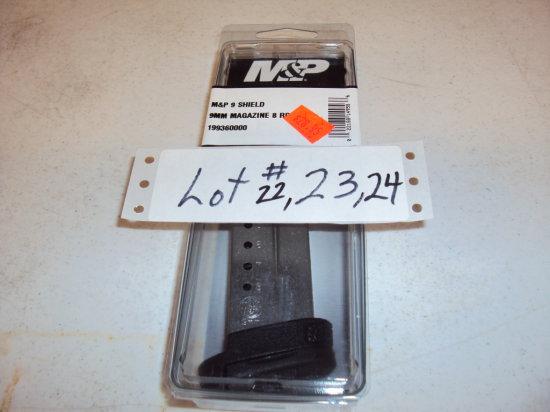 S&W 8RD 9MM SHIELD MAG NIB