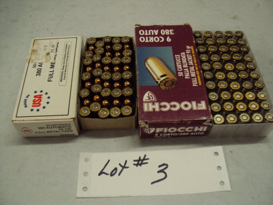 2 FULL BOXES OF AMMO