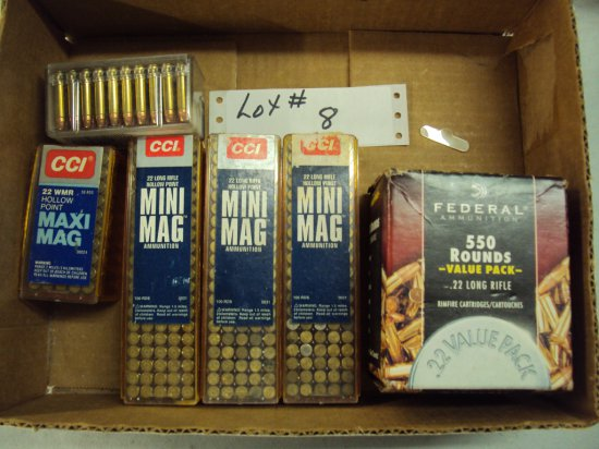 APPROX. 950 ROUNDS OF AMMO