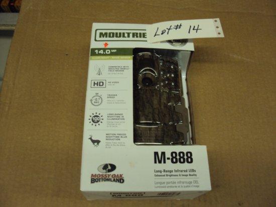 MOULTRIE M-888 14MP BOTTOMLAND COLOR CAMERA NIB