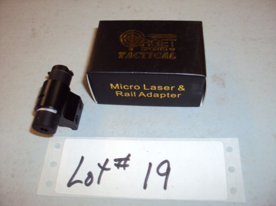 TARGET TACTICAL MICO LASER & RAIL ADAPTOR NIB