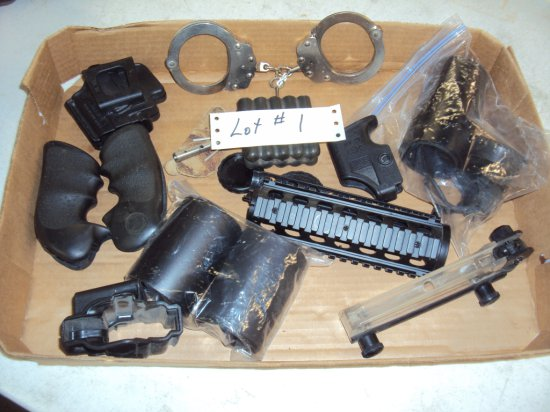 BOX LOT OF MISC. ITEMS