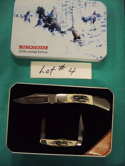 WINCHESTER 2008 EDITION COLLECTIBLE KNIVES