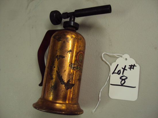 GASOLINE TORCH BY THE LENK MFG COMPANY