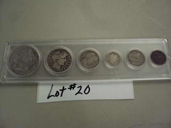 1899 COIN SET - COMPLETE