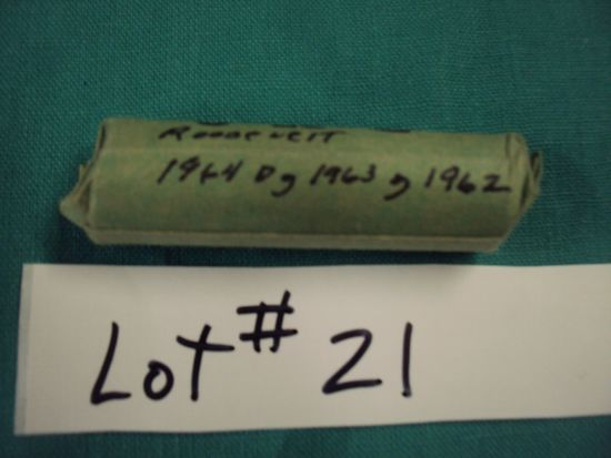 1 ROLL OF SILVER ROOSEVELT DIMES (UNSEARCHED)