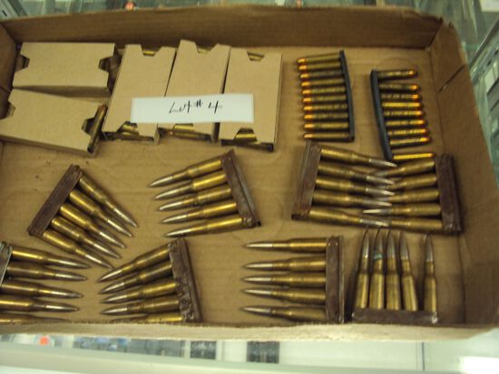 TRAY LOT MISC. 30 CARBINES
