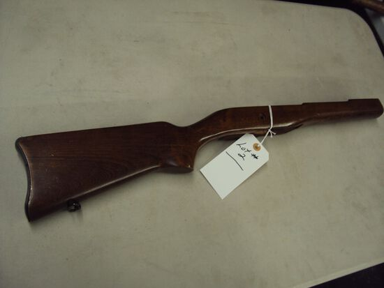 RUGER MINI 14 WOODEN STOCK