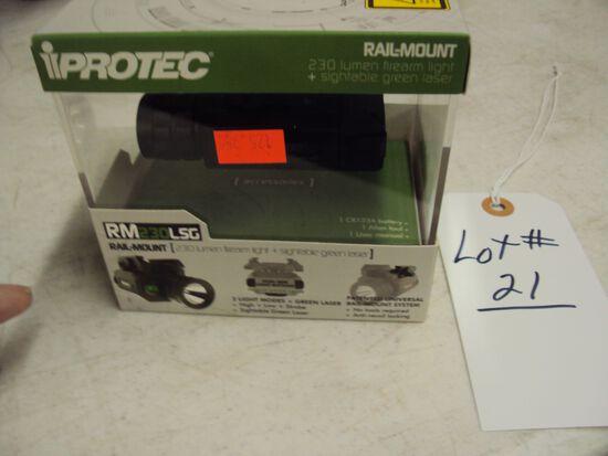 PROTEC RM230LSG GREEN LASER LIGHT