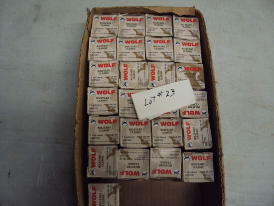 500 ROUNDS OF 7.62X39 AMMO