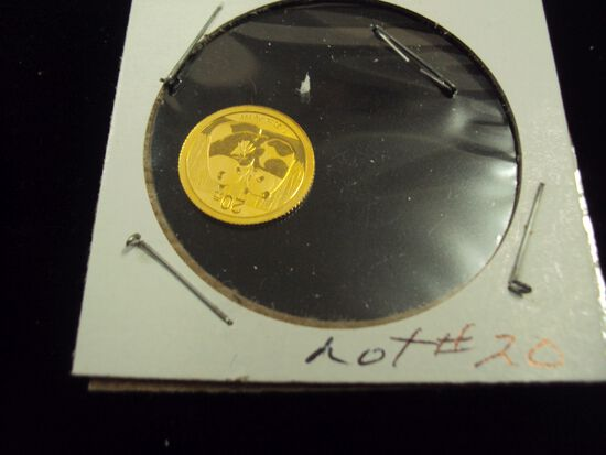2009 PANDA GOLD COIN