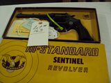 HIGH STANDARD SENTINEL 22 REVOLVER WITH ORIGINAL BOX
