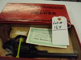 HIGH STANDARD SENTINEL DELUXE 22 REVOLVER WITH ORIGINAL BOX