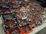 LOT OF 43 HARLEY DAVIDSON DIE CAST MOTORCYCLE MODELS - UNOPENED