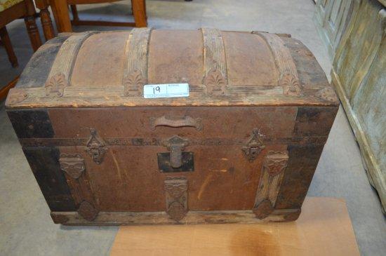 Antique Camet Top Trunk