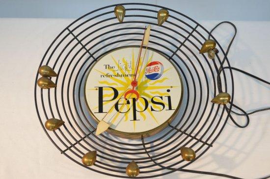 Vintage Pepsi-Cola Clock