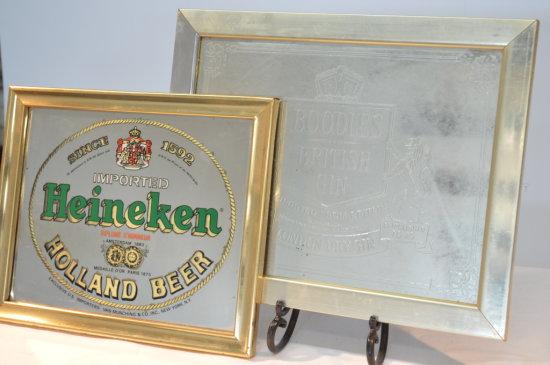 Heineken and Boodles Advertisements