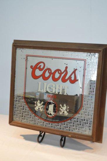 Coors Light Mirrored Light Up Sign