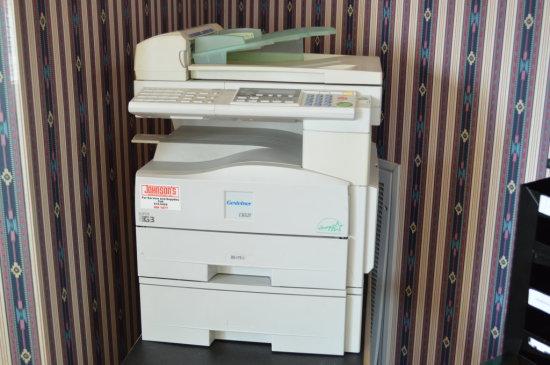 Gestetner Fax and Copy Machine