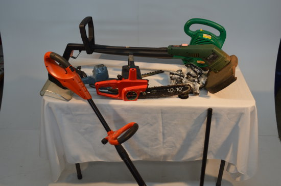 Weedeaters, Chainsaw, Blower