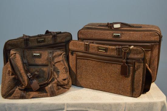 4 Piece Vintage Luggage