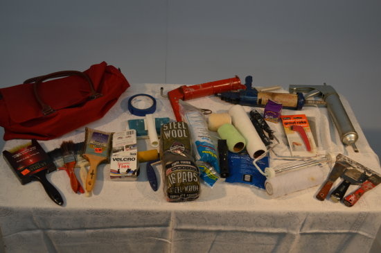 Bag Of Painter's Tools