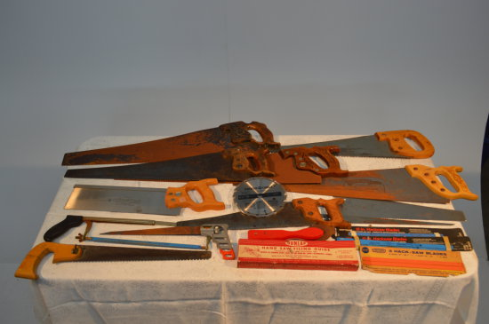 Assorted Saws