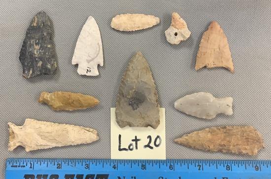 Lot of arrowheads & blades