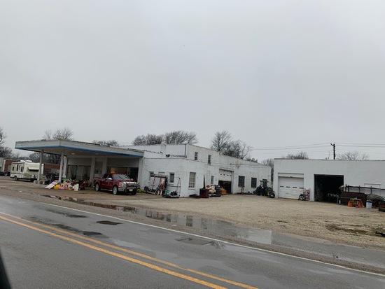 Former Chevrolet Dealership Building Hughes Arkansas