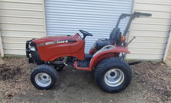 CASE iH DX24 Hydro tractor
