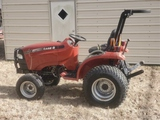CASE iH DX 24 Hydro tractor w/ front wheel assist This tractor is very clean with low hours and good