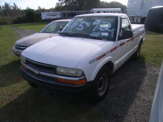 12-09136 (Trucks-Pickup 2D)  Seller:Florida State DOT 1998 CHEV S10
