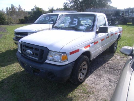 12-09142 (Trucks-Pickup 2D)  Seller:Florida State DOT 2010 FORD RANGER