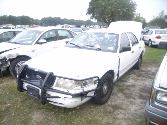 12-05114 (Cars-Sedan 4D)  Seller:Pinellas County Sheriff-s Ofc 2008 FORD CROWNVIC