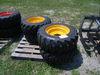 7-01114 (Equip.-Loader- skid steer)  Seller:Private/Dealer (4) 10-16.5 SKID STEER LOADER TIRES