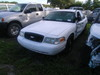 7-05111 (Cars-Sedan 4D)  Seller:City of St.Petersburg 2008 FORD CROWNVIC