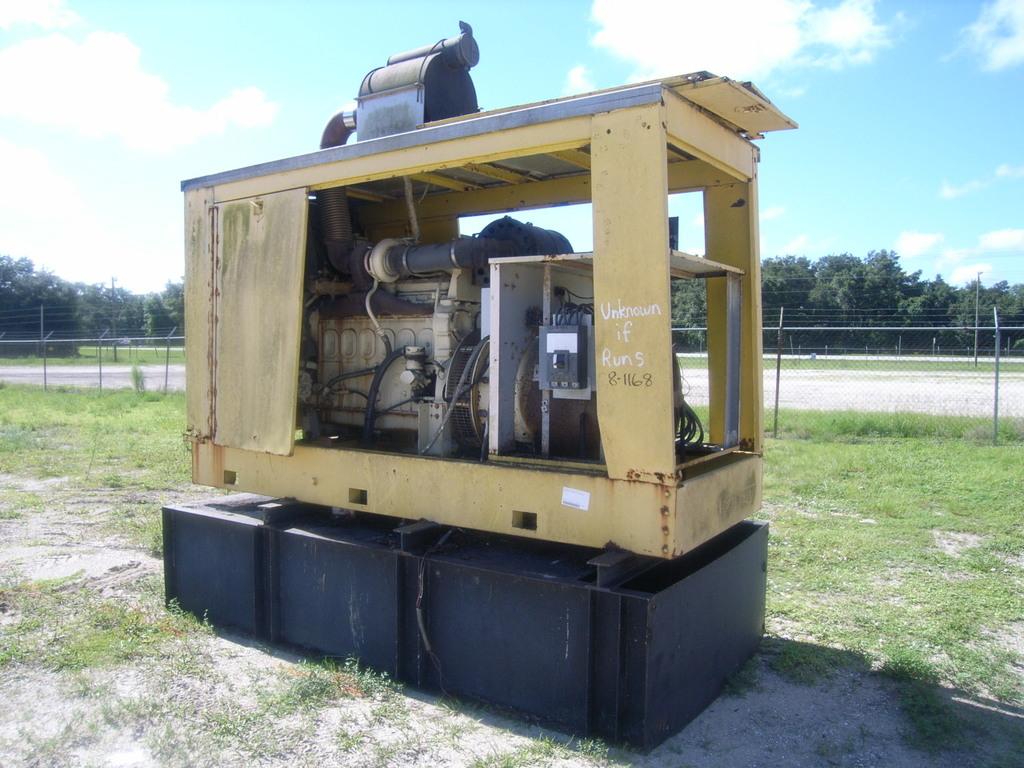 9-01134 (Equip.-Generator) Se... Auctions Online | Proxibid