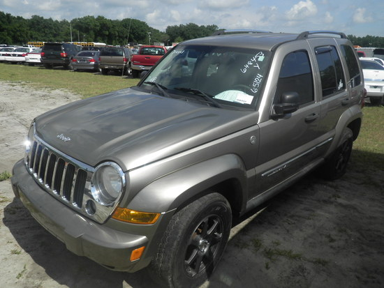 6-05124 (Cars-SUV 4D)  Seller:Private/Dealer 2005 JEEP LIBERTY