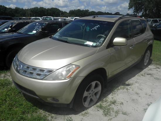 9-05116 (Cars-SUV 4D)  Seller:Private/Dealer 2003 NISS MURANO