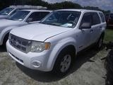 9-05155 (Cars-SUV 4D)  Seller: Gov/City of St.Petersburg 2008 FORD ESCAPE