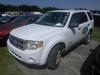 10-05127 (Cars-SUV 4D)  Seller: Gov/Sarasota County Commissioners 2008 FORD ESCAPE