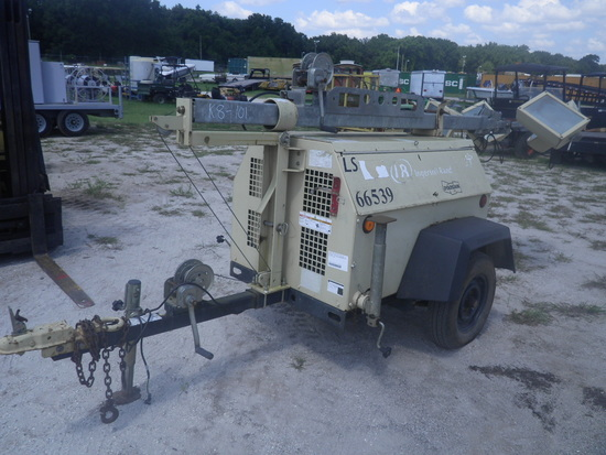 11-01110 (Equip.-Light tower)  Seller:Private/Dealer INGERSOLL-RAND LS60 PORTABLE DIESEL
